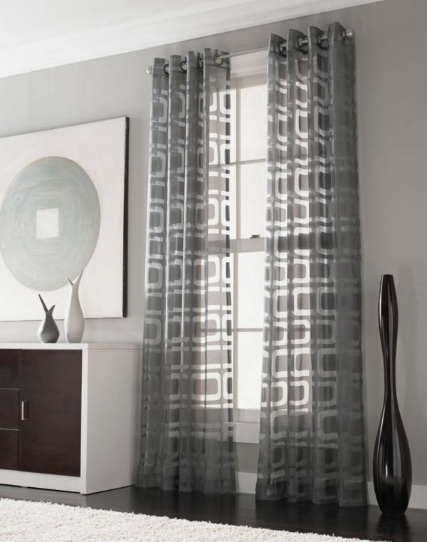 Appealing-Modern-Geometric-Curtains-Ideas